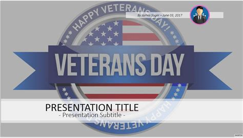 Veterans Day Powerpoint Bing Images Veteran Powerpoint Template