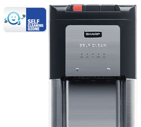 Water Dispenser Sharp Indonesia cara membersihkan dispenser galon bawah sharp automatic