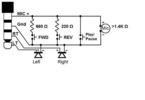 galaxy s4 headset mic button wiring schematic pinout