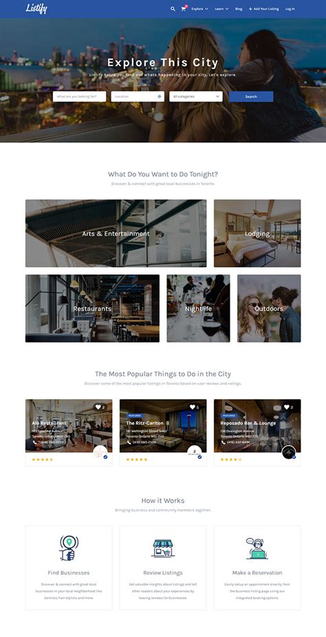 listify theme 14 best selling wordpress themes for real estate and