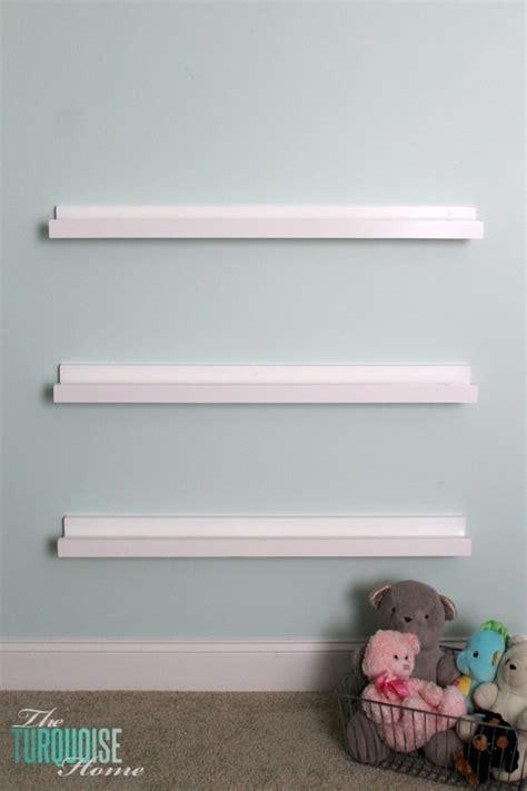 Diy Simple Bookcase Diy Bookshelf Ledges For The Nursery The Turquoise Home