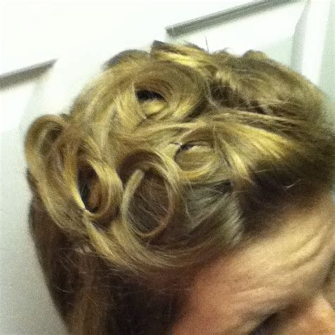 curly hairstyles using bobby pins updo for short hair pin curls with bobby pins and layer