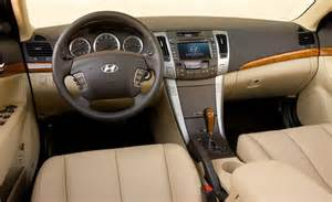 2009 hyundai sonata interior photo
