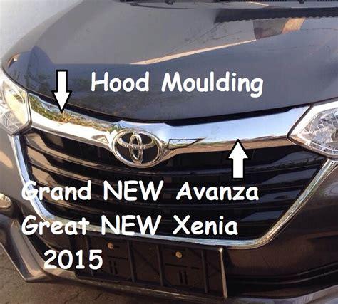 Lis Kap Motor Grand New Avanzaxenia 2016 Chrome Ori 05 18 16 unik motor
