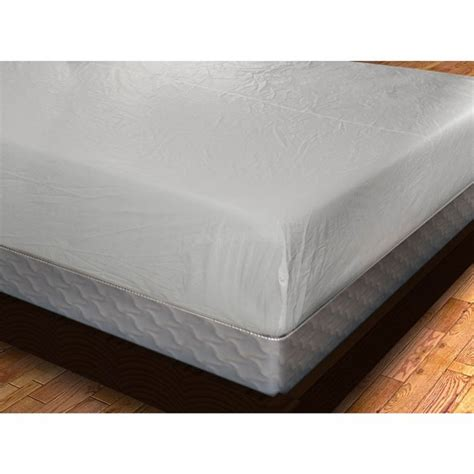 plastic bed covers twin size fitted vinyl mattress cover twin full queen