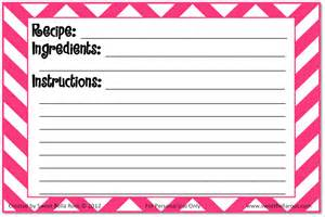 free recipe cards printable grace and eats