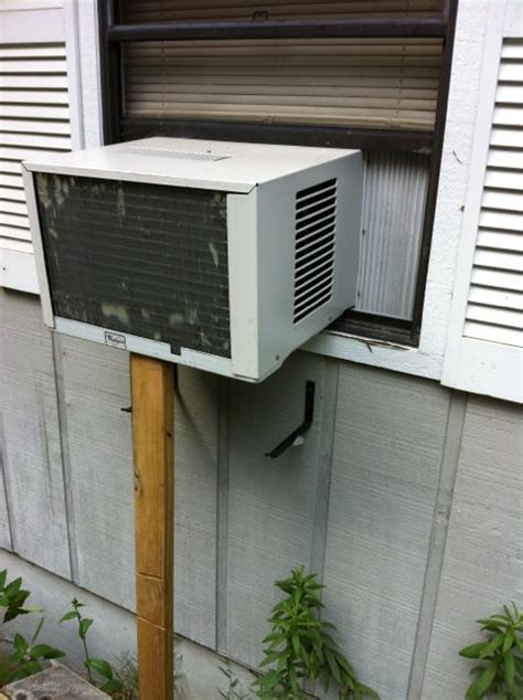 window ac leaking water inside house bigger generator or just portable air conditioner for