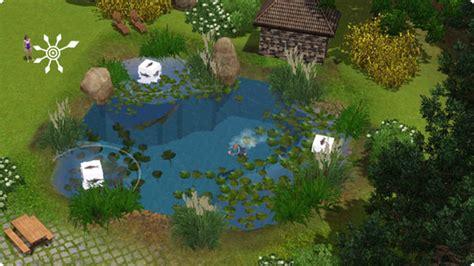 sims garten sims 3 tutorial badesee und schwimmteich bauen
