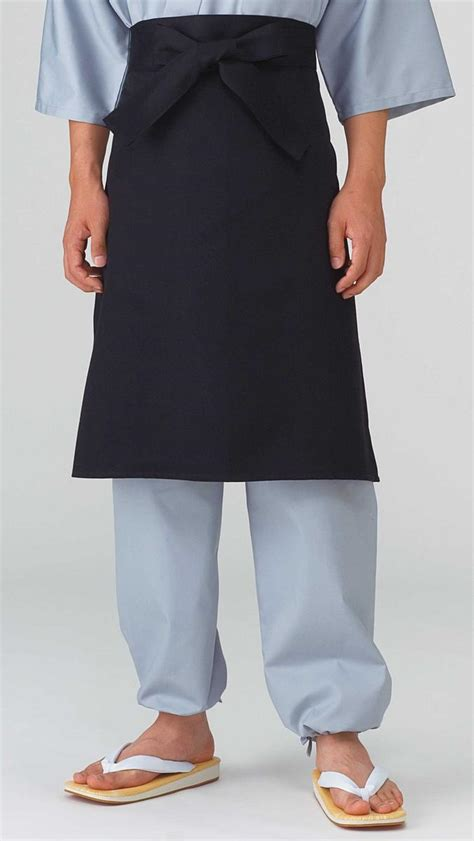 Kitchen Robe by Shigotogihiroba Rakuten Global Market Among Black