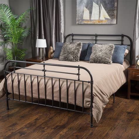 metal bed frames king size 1000 ideas about metal bed frames on metal