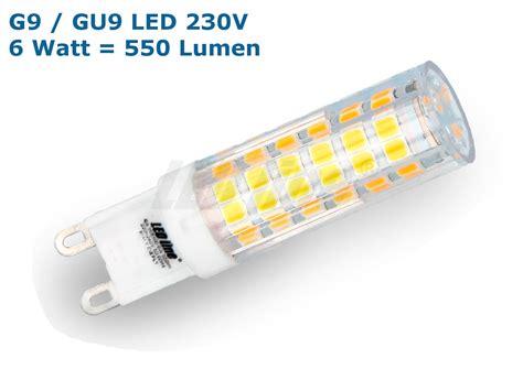Sockel G9 Led Leuchtmittel by Sehr Helle G9 Gu9 Led Leuchtmittel 6 Watt 550 Lumen Warmweiss Tageslichtwe Ebay