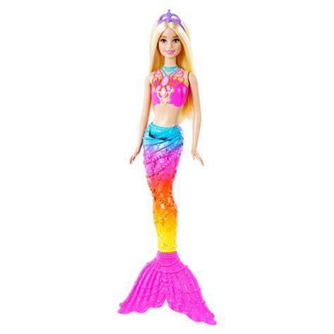 barbie rainbow lights mermaid doll barbie rainbow mermaid doll mattel barbie dolls at