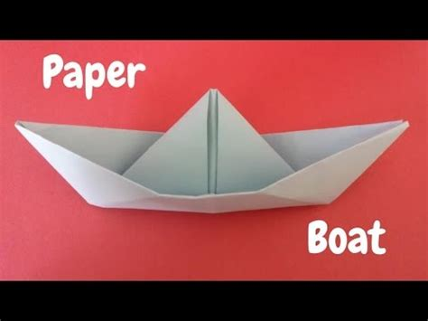 how to make a paper boat box how to make a paper boat origami boat origami step by