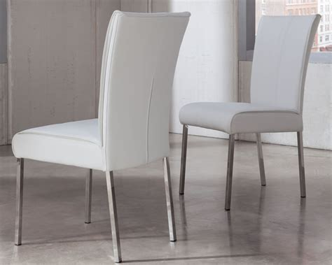 white modern dining chairs easy steps to contemporary dining chairs