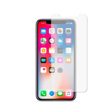 Temper Glass Iphone X iphone x tempered glass screen protector goatcase