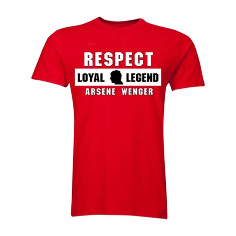 arsene wenger respect t shirt tshirtred 19 74