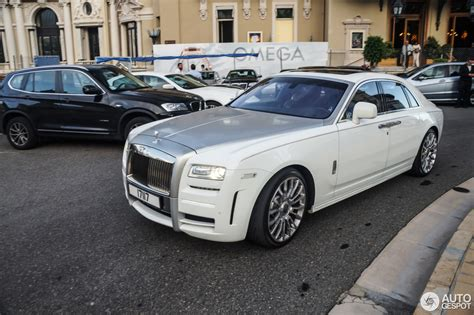 rolls royce white 2016 rolls royce mansory white ghost limited 5 june 2016