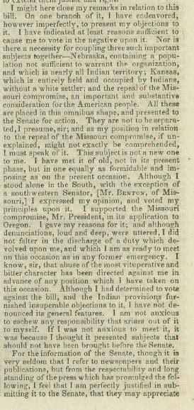 records from missouri newspapers 1854 1860 vol 1 books sam houston senate speech february 15 1854 tslac