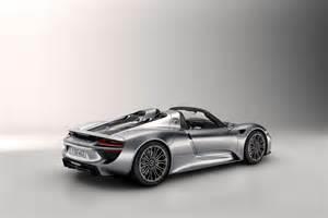 918 Spyder Porsche Porsche 918 Spyder Hybrid Has 1 Million Price Tag