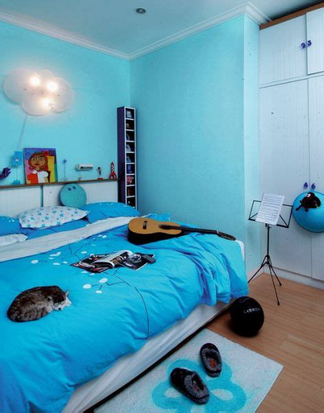 pengaruh warna  kamar tidur style dweller