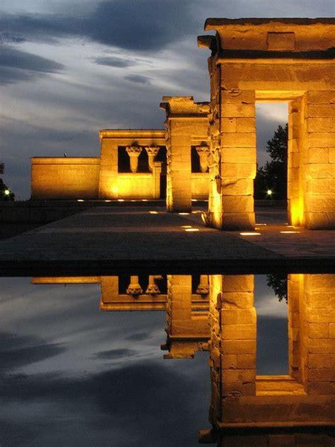 temple of debod madrid spain madrid temples and spain on