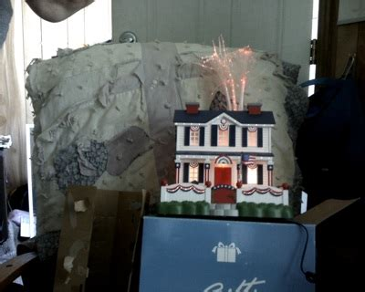 lighted avon houses free patriotic lighted fiber optic house by avon other collectibles listia auctions for