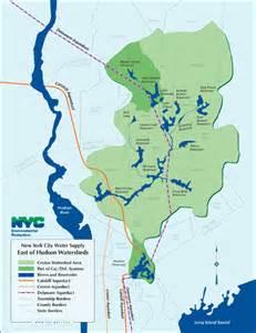 croton watershed map