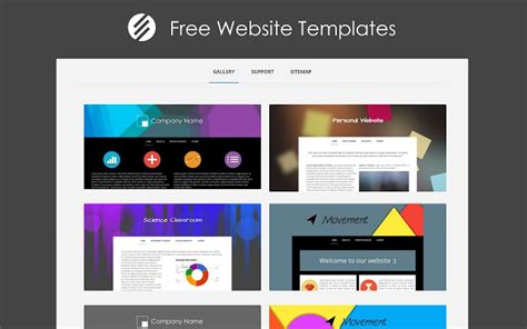 templates for google sites free website templates chrome web store