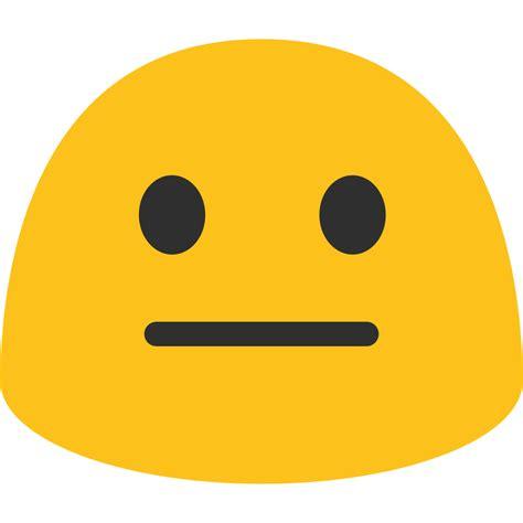 emoji images file emoji u1f610 svg wikimedia commons