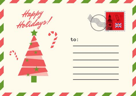 postcard template year 2 green postcard postcard templates by canva