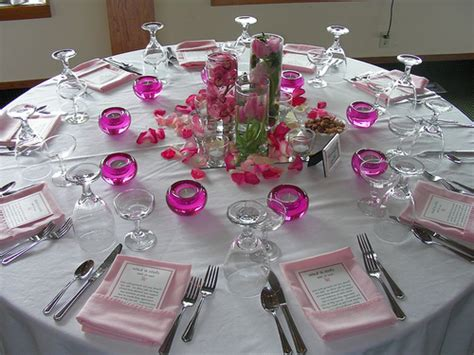 table decorations ideas table decorations for wedding receptions ideas on