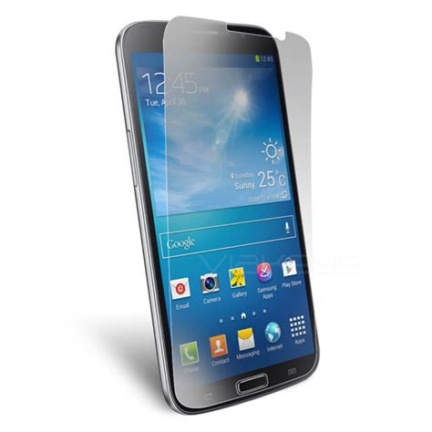 clear transparent screen protector for samsung galaxy mega