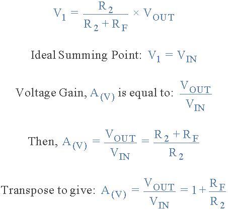 gain resistor formula resistor gain equation 28 images inverting op resistor calculator inverting op resistor