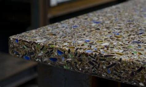 Vetrazzo Countertop by Recycled Glass Countertops Vetrazzo