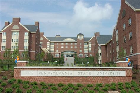 Penn State University Eastview Terrace Student Housing Turner Construction Company
