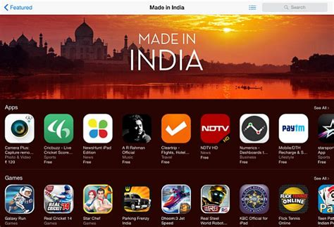 made in india apple highlights made in india apps and on the app