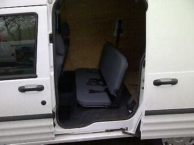 ford transit connect seat conversion    fitting van solve
