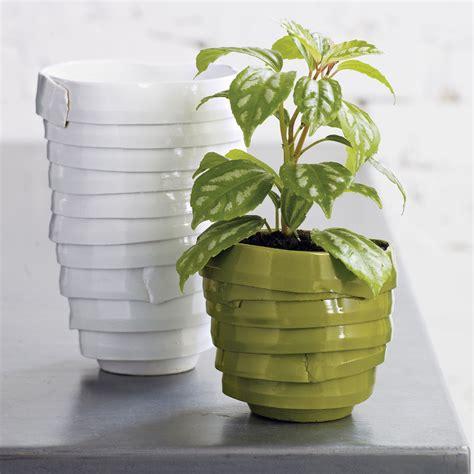 Planter Vase wrap vase planter the green
