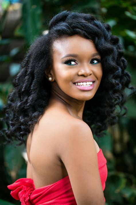 latest human hair styles in kenya pics nairobi salon gives natural hair makeovers to 30