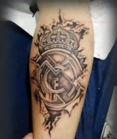 real madrid tattoo images amp designs
