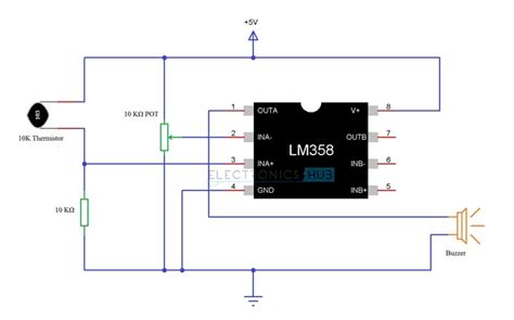 simple diode circuits pdf simple alarm circuit using thermistor germanium diode and lm341