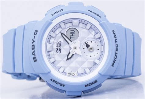 Casio Babyg Bga 190be 2a casio baby g shock resistant world time analog digital bga