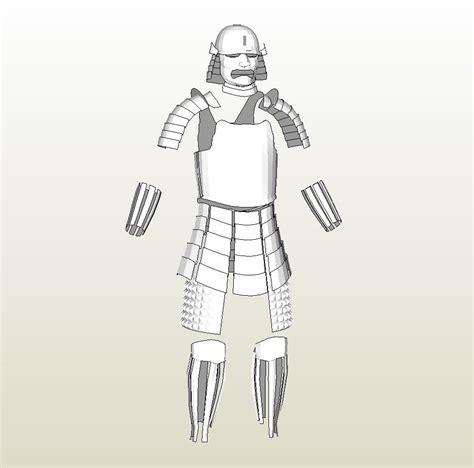 samurai helmet template foamcraft pdo file template for armor japanese samurai