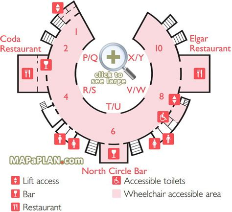 royal albert hall floor plan third floor circle level rah map royal albert hall seating