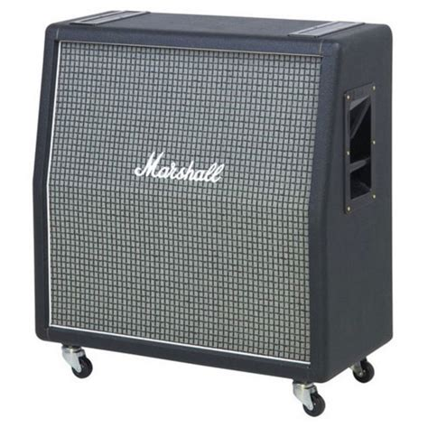 marshall and cabinet marshall 1960ax 4x12 quot angled speaker cab w celestion