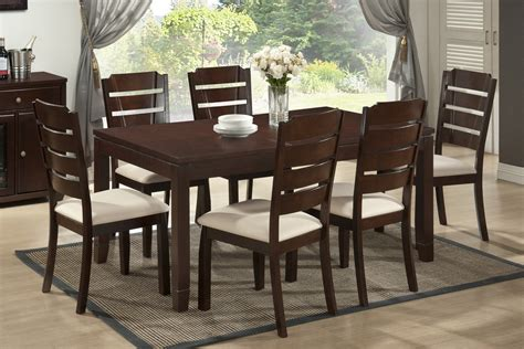 modern dining sets elsa brown wood 5 piece modern dining set see white