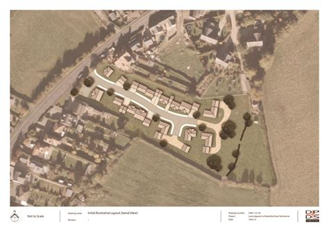 land layout sketch appeal allowed land at hartshorne swadlincote dpds