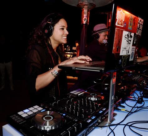 nikki bella yooying actress michelle rodriguez dj s at the after party for the