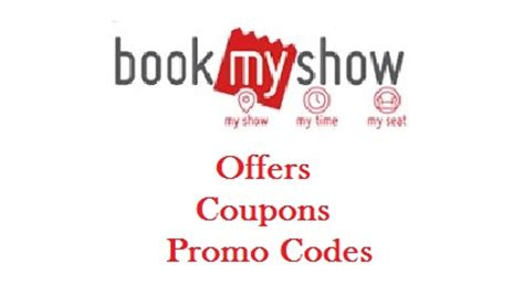 bookmyshow offers october 2017 bookmyshow offers coupons promo code 13 14 june 2017
