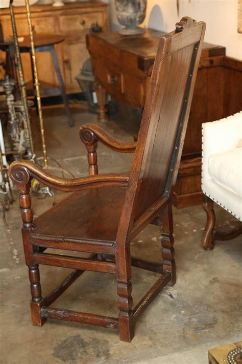 Wainscot Chairs For Sale 18th century oak wainscot chair for sale at 1stdibs